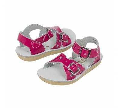 Lasten sandaalit-Shiny Fuchsia-Sweetheart SaltWater