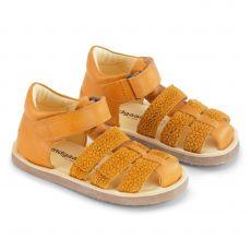 Lasten sandaalit - keltainen -Sebastian Bundgaard