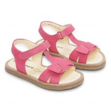 Tyttöjen sandaalit -pinkki- Sondra Bundgaard
