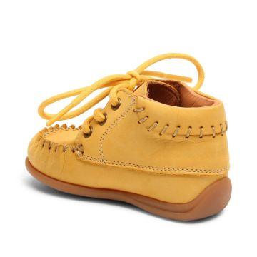 Lasten ensiaskelkengät-keltainen-Bisgaard