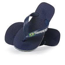 Lasten flip flopit Brasil logo navy-Havaianas