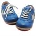 Ensiaskelkengät nauhoilla tähti-sininen- Bisgaard