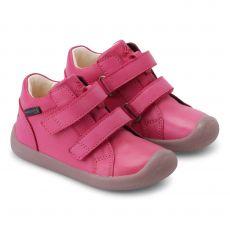 Lasten TEX tarrakengät -dark pink- Walk Bundgaard