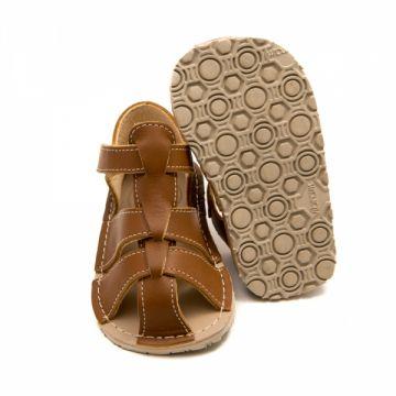 Lasten sandaalit - MARLIN - brown- Zeazoo