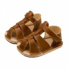 Lasten sandaalit - GOBI - brown- Zeazoo