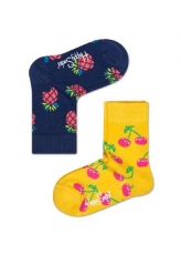 Lasten sukat 2 pack (ananas/kirsikka)Happy Socks