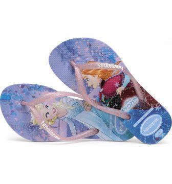 Lasten flip flopit Kids Frozen-Havaianas