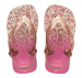 Baby Chic flip flopit-White/Gold blush-Havaianas