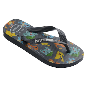 Lasten flip flopit Kids Top Pokemon-new graphite -Havaianas