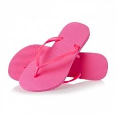 Tyttöjen flip flopit Shocking pink Slim-Havaianas