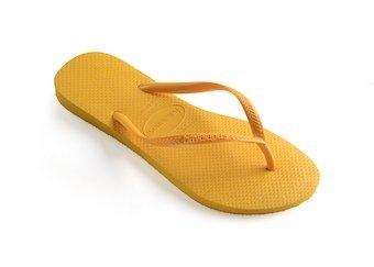 Keltaiset flip flopit Slim -Havaianas