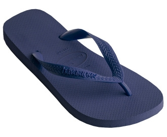 Siniset flip flopit Top -Havaianas