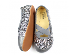 Ballerinatossut-hopea glitter- Petit by Sofie Schnoor