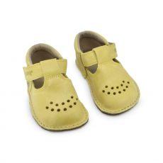 Lasten ohutpohjaiset kengät - keltainen - Lusti OmaKing