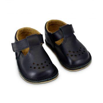 Lasten ohutpohjaiset kengät-musta - Lusti OmaKing