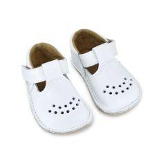 Lasten ohutpohjaiset kengät- valkoinen - Lusti OmaKing