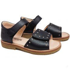 Tyttöjen sandaalit -musta- ANGULUS