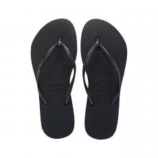 Mustat flip flopit Slim -Havaianas