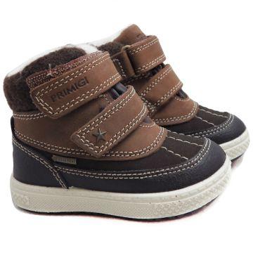 Lämminvuoriset Goretex kengät-ruskea-Primigi