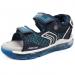 Vilkkuvat sandaalit- sininen-Geox