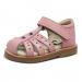 Pikkutyttöjen sandaalit -sydän/nude- RAP