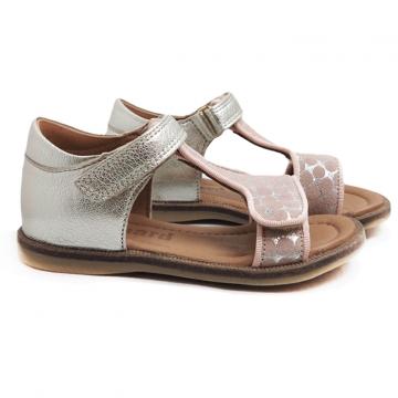 Tyttöjen sandaalit -rose dots- Bisgaard
