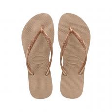 Flip flopit Slim-Rose Gold -Havaianas