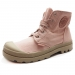 Lasten Pampa Hi tennarit- salmon pink- Palladium
