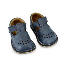 Lasten ohutpohjaiset kengät- tummansininen - Lusti OmaKing