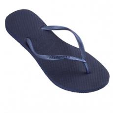 Tummansiniset flip flopit Slim -Havaianas