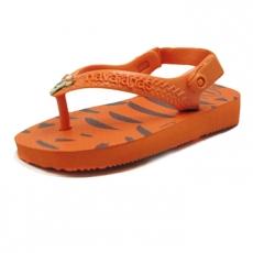 Pienten flip flopit Baby Tikru -oranssi -Havaianas