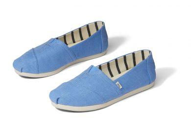 Naisten kangaskengät -blue-TOMS