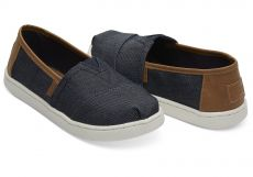Kangaskengät junior-navy denim- TOMS