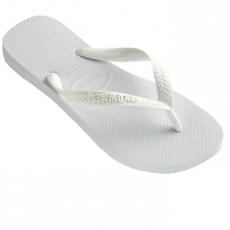 Valkoiset flip flopit Top White-Havaianas