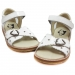 Tyttöjen sandaalit-valkoinen- RAP