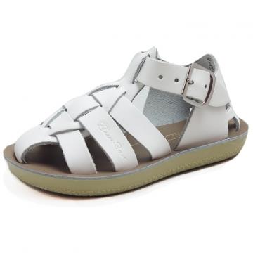 Lasten sandaalit-valkoinen- Shark SaltWater