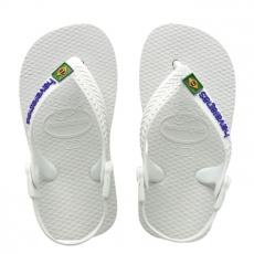 Pienten flip flopit Baby Brasil logo -white-Havaianas