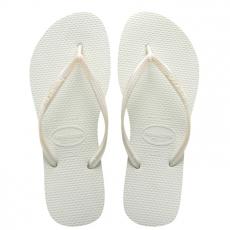Valkoiset flip flopit Slim -Havaianas