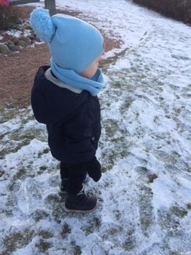 Lasten TEX-talvikengät tarroilla -musta- Arauto Rap