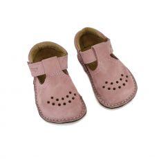 Lasten ohutpohjaiset kengät  - roosa vintage - Lusti OmaKing