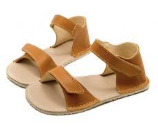 Lasten sandaalit - Ariel -Camel brown- Zeazoo